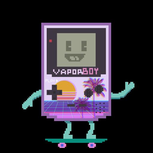 VaporBoy logo